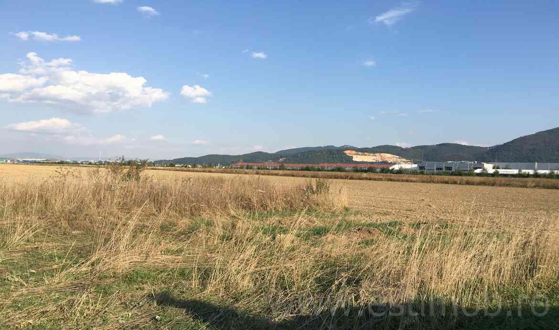 Teren constructie Hala productie de vanzare in Brasov