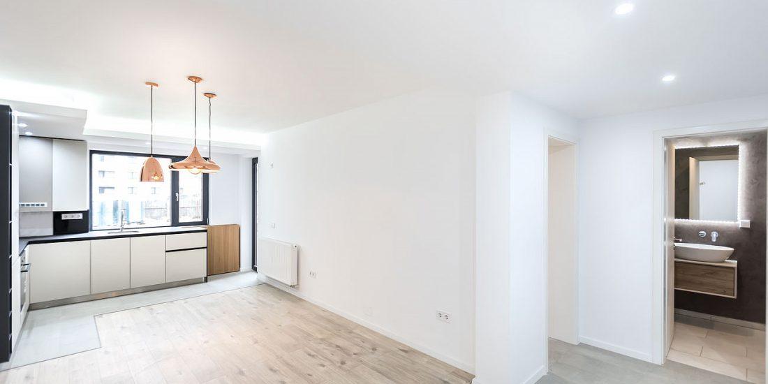 Apartament finalizat bloc nou zona Coresi